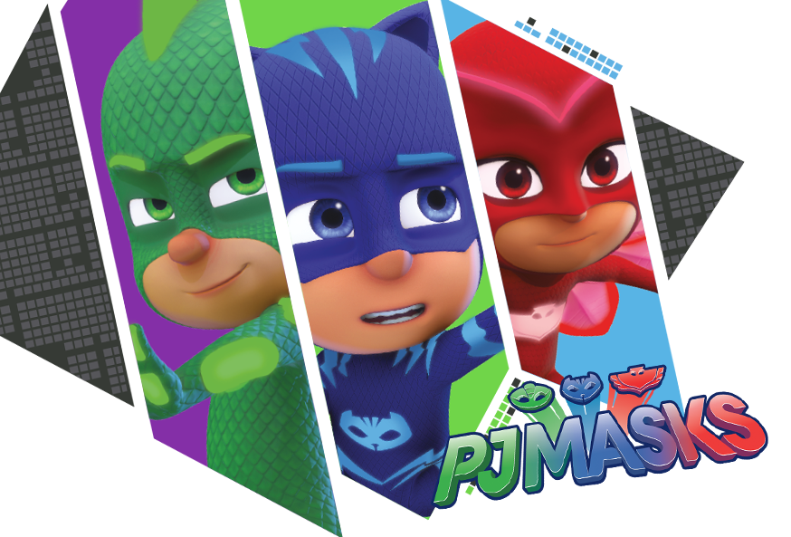 pj mask superpigiamini accessori