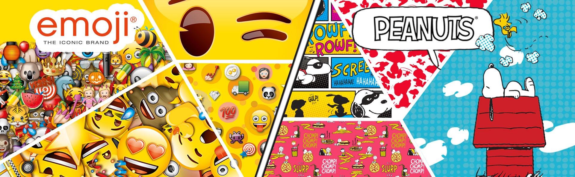 accessori zaini emoji peanuts