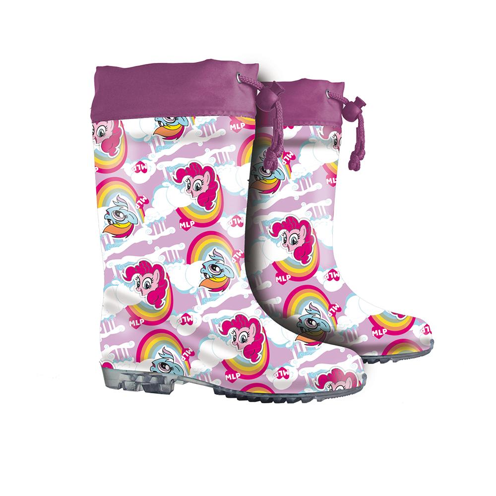 stivali pioggia my little pony