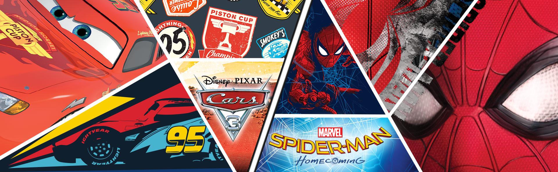accessori zaini spiderman cars
