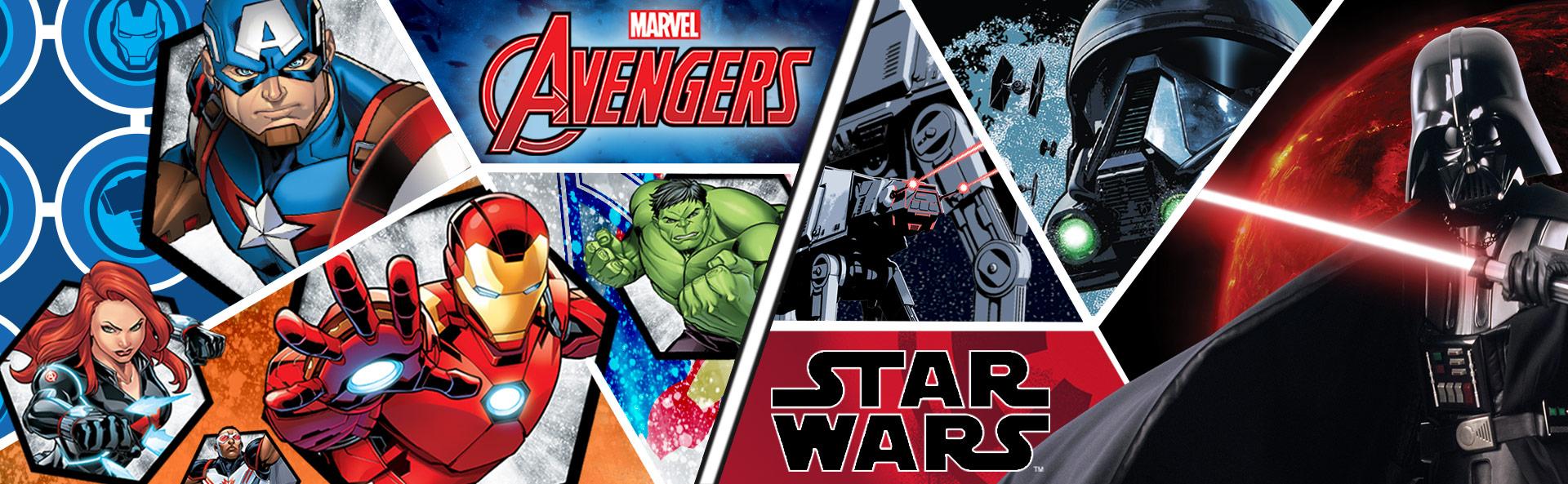 accessori zaini avengers star wars