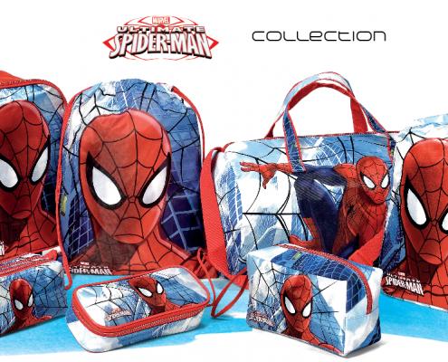 Spiderman zaini accessori trolley beauty portafogli borsone