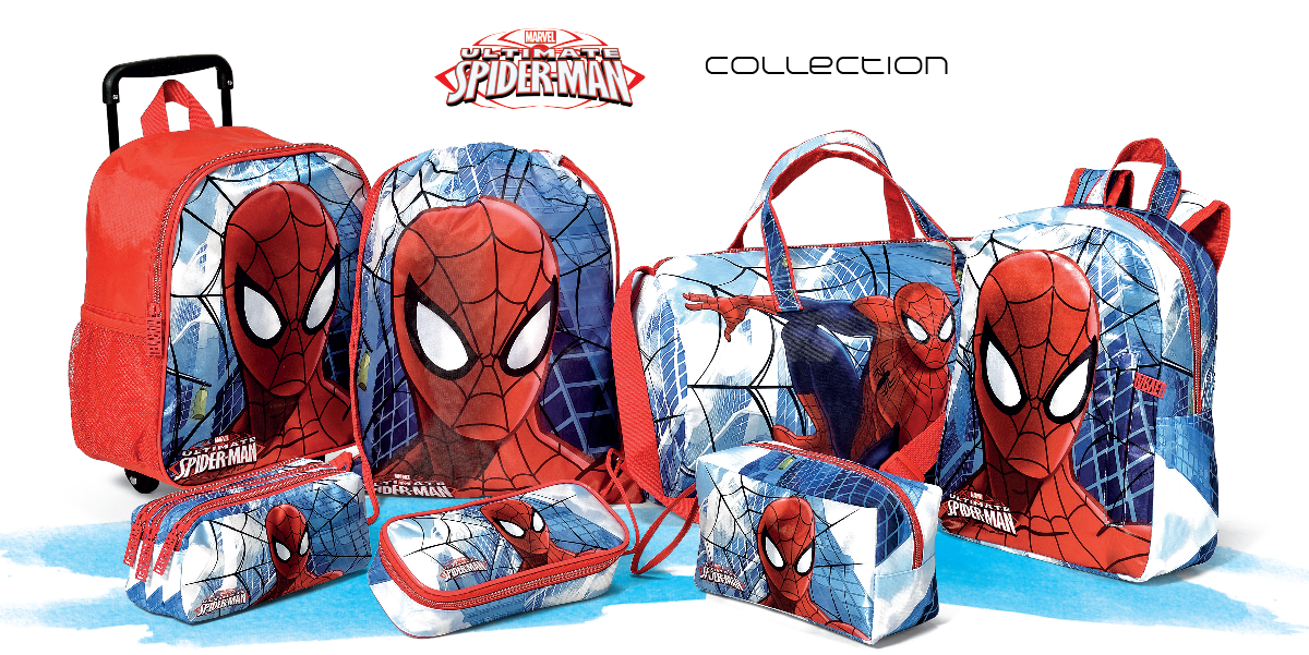 Spiderman zaini accessori trolley beauty portafogli borsone