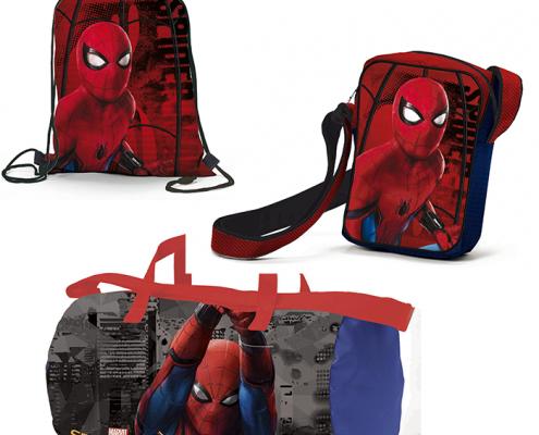 sacche zaini borse spiderman