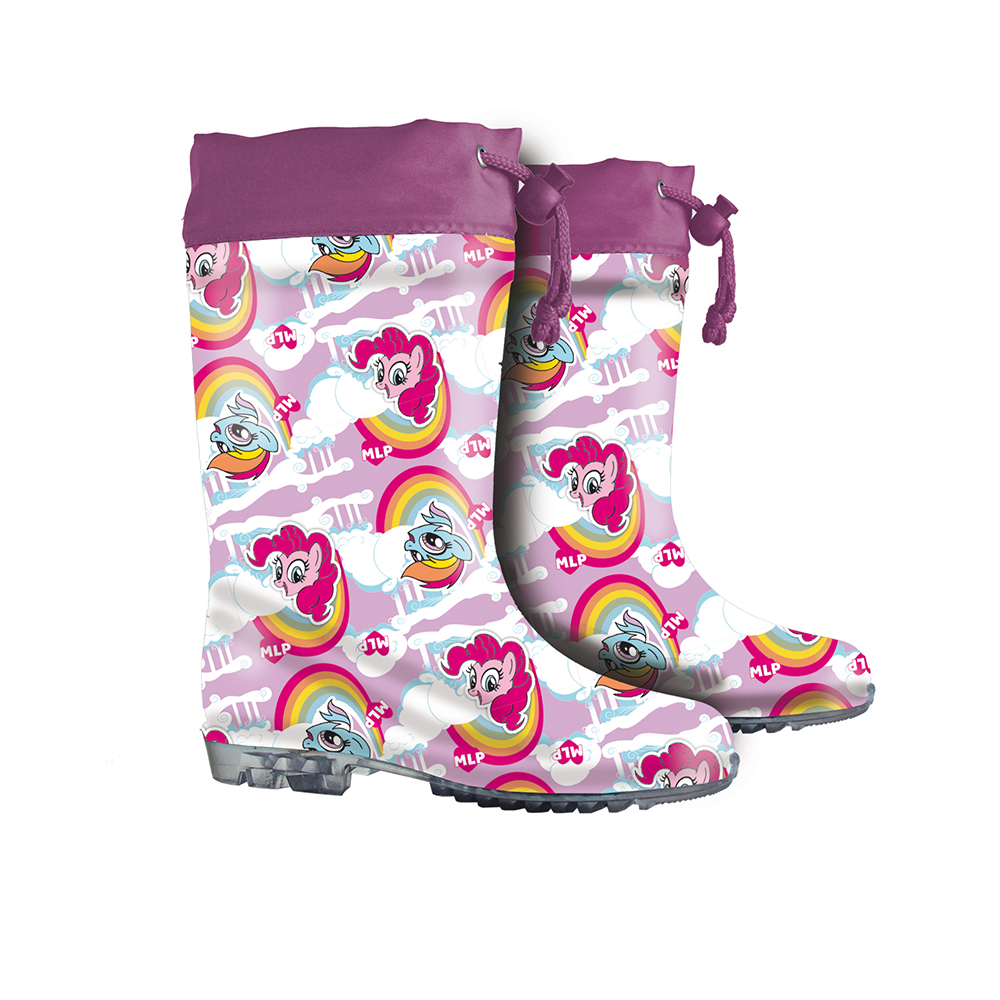 stivali pioggia my little pony