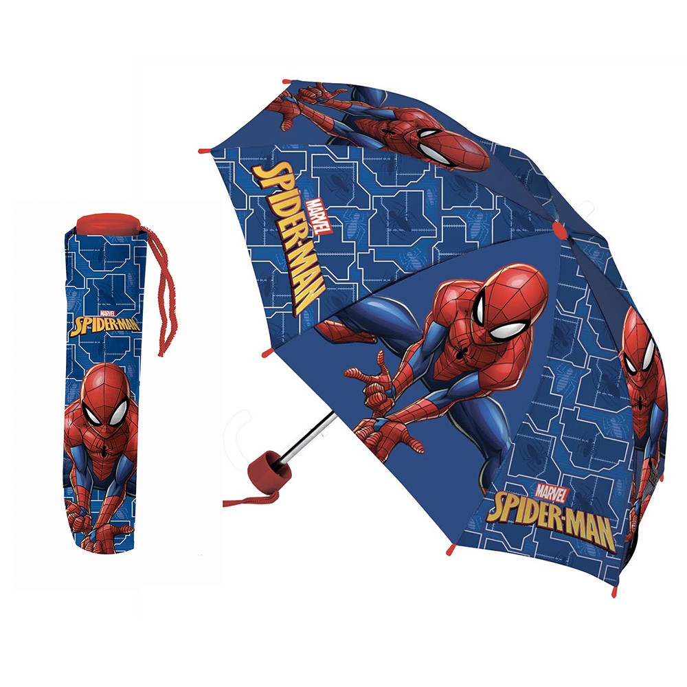 ombrello pieghevole spiderman marvel