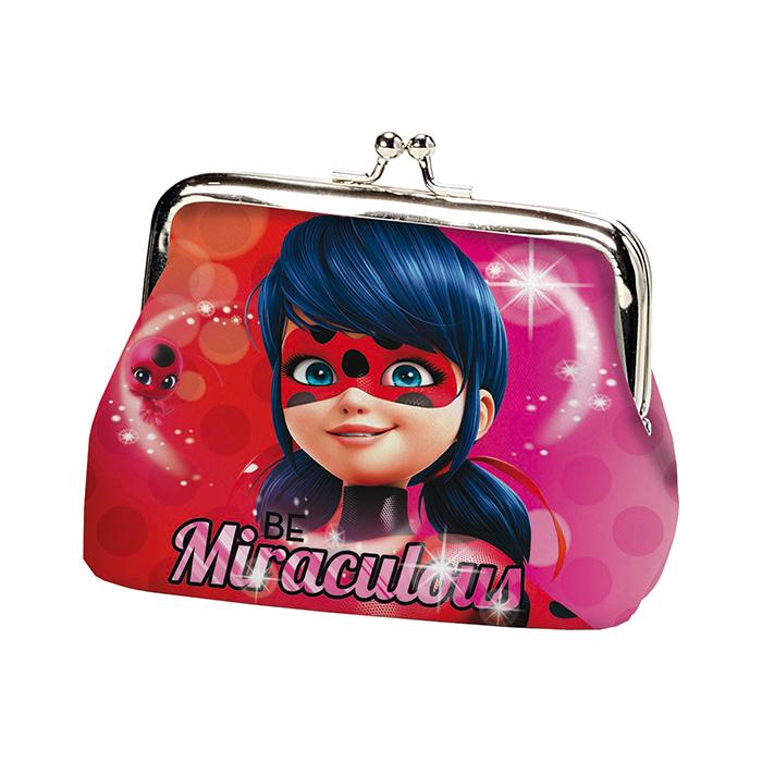 portamonete portafogli Miraculous Ladybug