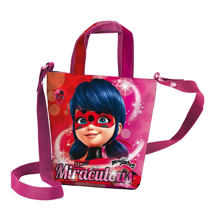 tracolla shopping bag borsa Miraculous Ladybug Marinette Dupain-Cheng