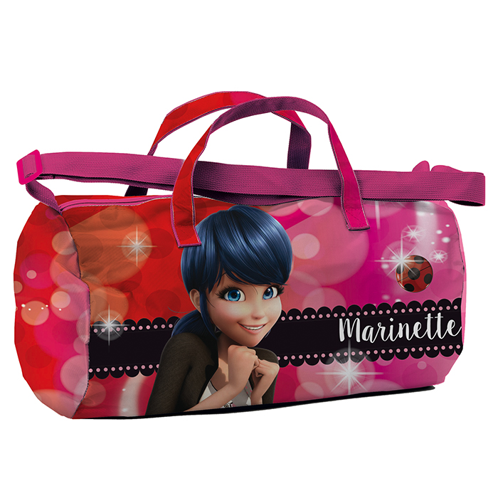 sport bag borsone borsa palestra Miraculous Ladybug Marinette Dupain-Cheng